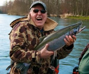 13 pound Cowlitz River Steelhead March 10th 2010