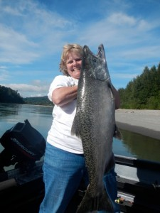 30 lb Chinook caught on 8/27/12