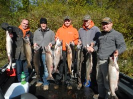 Fall Salmon fishing